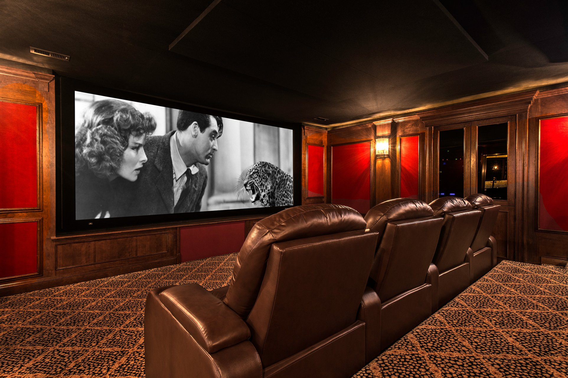 Classy Home Theater