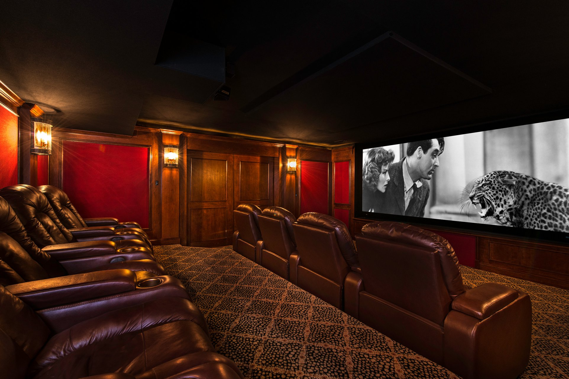 Luxurious Home Theater